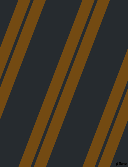 69 degree angle dual stripe lines, 39 pixel lines width, 10 and 117 pixel line spacing, Raw Umber and Blue Charcoal dual two line striped seamless tileable