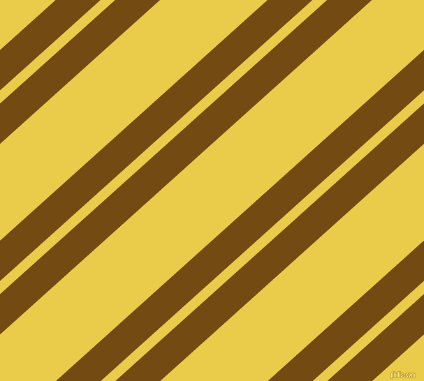 42 degree angle dual stripes lines, 43 pixel lines width, 14 and 103 pixel line spacing, Raw Umber and Festival dual two line striped seamless tileable