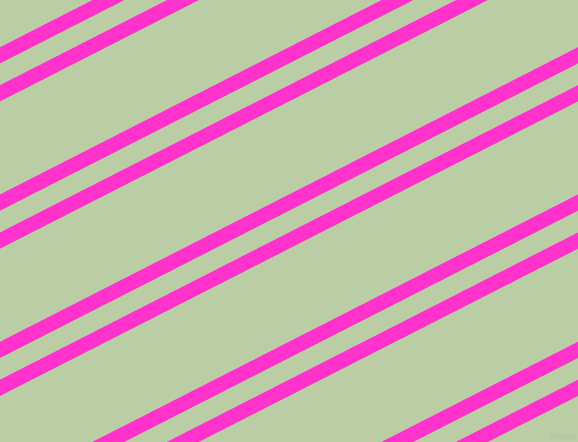 27 degree angle dual striped line, 21 pixel line width, 28 and 120 pixel line spacing, Razzle Dazzle Rose and Pixie Green dual two line striped seamless tileable