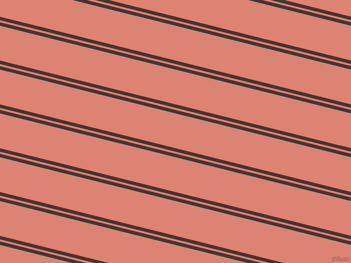 166 degree angle dual striped lines, 7 pixel lines width, 4 and 69 pixel line spacing, Rebel and New York Pink dual two line striped seamless tileable