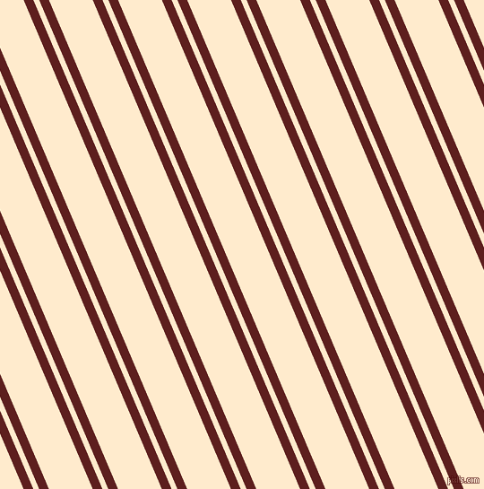 113 degree angle dual striped lines, 10 pixel lines width, 6 and 45 pixel line spacing, Red Oxide and Blanched Almond dual two line striped seamless tileable