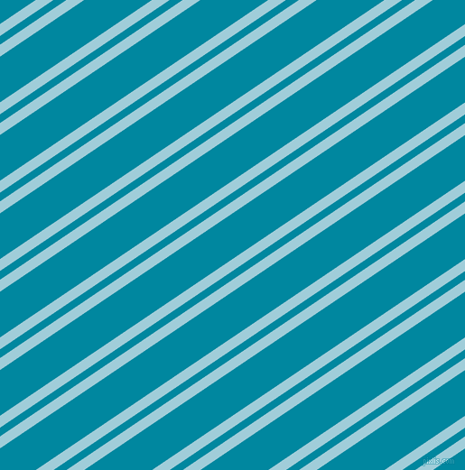 34 degree angle dual stripes lines, 11 pixel lines width, 8 and 42 pixel line spacing, Regent St Blue and Eastern Blue dual two line striped seamless tileable
