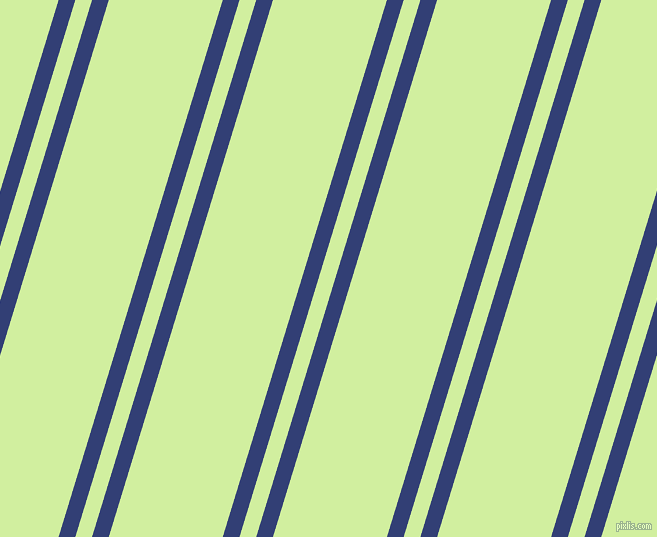 73 degree angles dual striped line, 16 pixel line width, 16 and 109 pixels line spacing, Resolution Blue and Reef dual two line striped seamless tileable