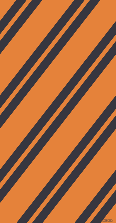 52 degree angles dual stripes line, 28 pixel line width, 14 and 86 pixels line spacing, Revolver and West Side dual two line striped seamless tileable