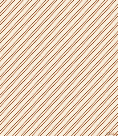 47 degree angle dual striped line, 2 pixel line width, 4 and 12 pixel line spacing, Rich Gold and Island Spice dual two line striped seamless tileable