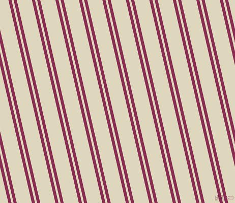 103 degree angles dual striped lines, 6 pixel lines width, 4 and 29 pixels line spacing, Rose Bud Cherry and Wheatfield dual two line striped seamless tileable