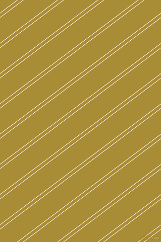 37 degree angles dual stripe lines, 1 pixel lines width, 6 and 40 pixels line spacing, Rose White and Reef Gold dual two line striped seamless tileable