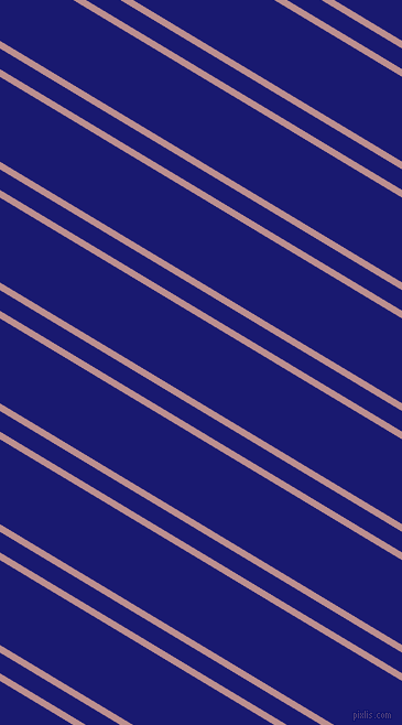 149 degree angles dual stripes lines, 6 pixel lines width, 16 and 66 pixels line spacing, Rosy Brown and Midnight Blue dual two line striped seamless tileable