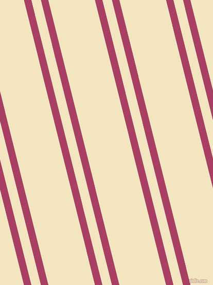 104 degree angles dual stripes line, 14 pixel line width, 18 and 88 pixels line spacing, Rouge and Milk Punch dual two line striped seamless tileable