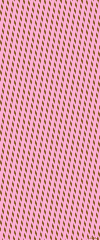 80 degree angles dual striped lines, 2 pixel lines width, 2 and 11 pixels line spacingRusty Nail and Lavender Pink dual two line striped seamless tileable