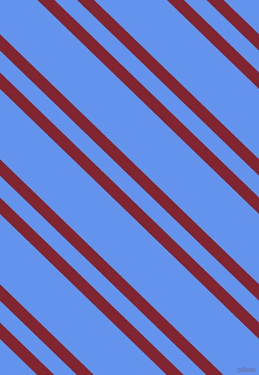 136 degree angles dual stripes line, 24 pixel line width, 32 and 103 pixels line spacing, Scarlett and Cornflower Blue dual two line striped seamless tileable