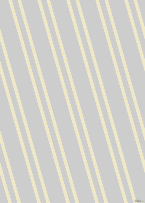 106 degree angles dual stripes lines, 14 pixel lines width, 22 and 64 pixels line spacing, Scotch Mist and Very Light Grey dual two line striped seamless tileable
