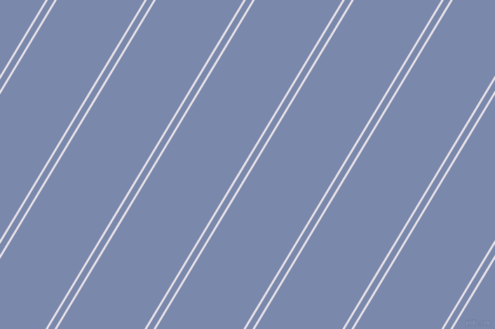 59 degree angle dual stripes lines, 3 pixel lines width, 8 and 107 pixel line spacing, Selago and Ship Cove dual two line striped seamless tileable
