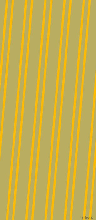 85 degree angles dual striped line, 7 pixel line width, 12 and 35 pixels line spacing, Selective Yellow and Gimblet dual two line striped seamless tileable
