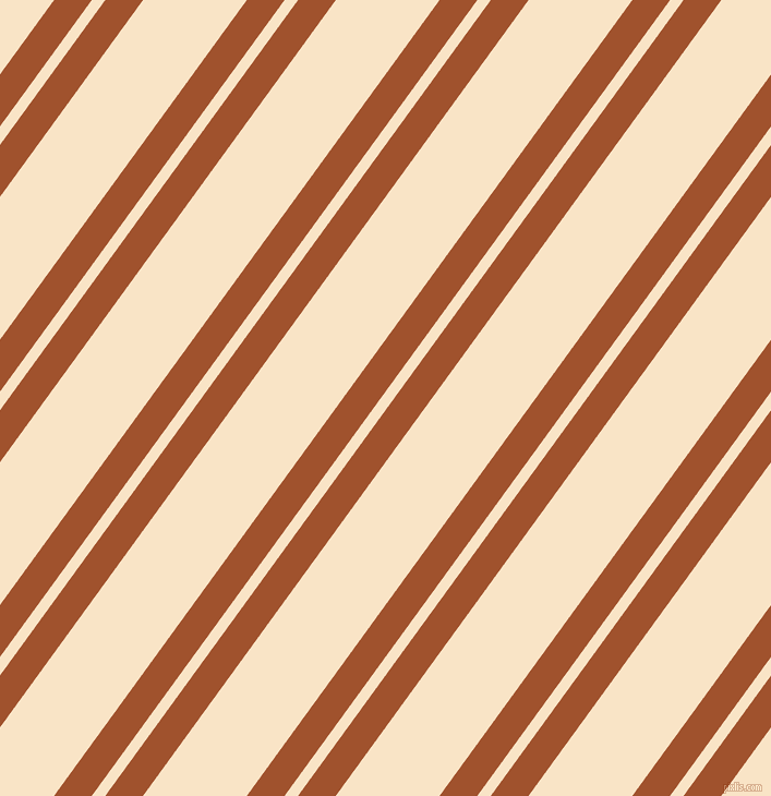 54 degree angle dual stripes line, 28 pixel line width, 10 and 77 pixel line spacing, Sienna and Derby dual two line striped seamless tileable