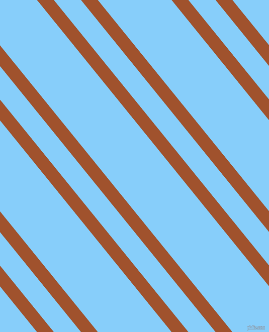 129 degree angles dual stripes line, 26 pixel line width, 42 and 114 pixels line spacingSienna and Light Sky Blue dual two line striped seamless tileable