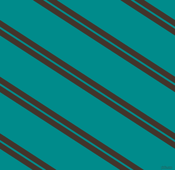 147 degree angle dual stripe line, 18 pixel line width, 6 and 112 pixel line spacing, Slugger and Dark Cyan dual two line striped seamless tileable