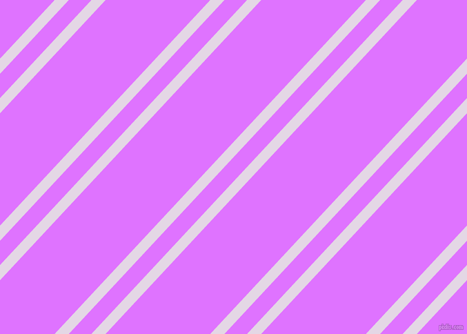 47 degree angles dual stripes line, 15 pixel line width, 24 and 111 pixels line spacing, Snuff and Heliotrope dual two line striped seamless tileable