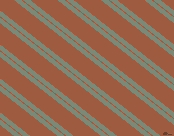 142 degree angles dual stripe lines, 18 pixel lines width, 4 and 67 pixels line spacing, Spanish Green and Sepia dual two line striped seamless tileable