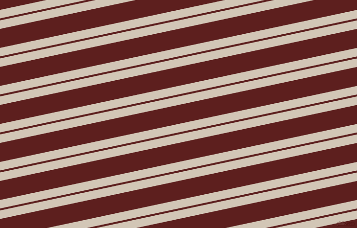 12 degree angles dual stripes lines, 17 pixel lines width, 4 and 38 pixels line spacing, Stark White and Red Oxide dual two line striped seamless tileable
