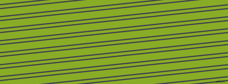 6 degree angles dual striped lines, 5 pixel lines width, 10 and 27 pixels line spacing, Steel Grey and Limerick dual two line striped seamless tileable