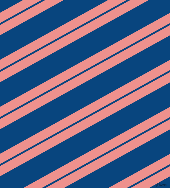 29 degree angles dual stripes line, 30 pixel line width, 6 and 72 pixels line spacing, Sweet Pink and Dark Cerulean dual two line striped seamless tileable