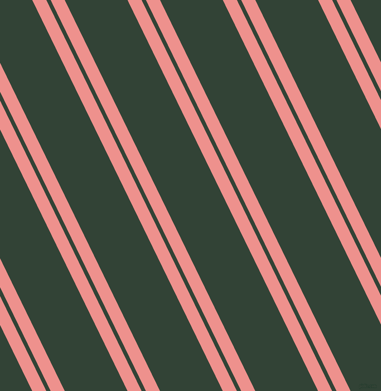 116 degree angle dual stripe line, 26 pixel line width, 8 and 116 pixel line spacing, Sweet Pink and Timber Green dual two line striped seamless tileable