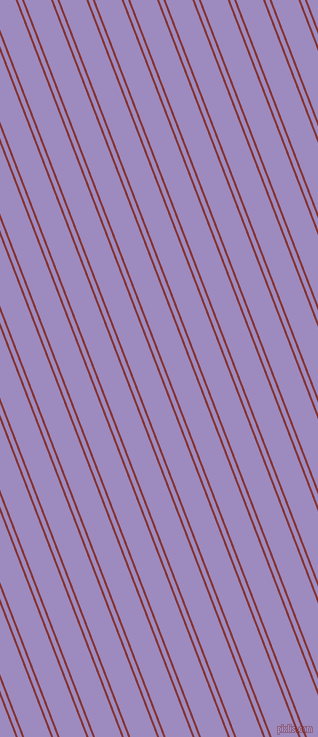 111 degree angle dual stripe lines, 2 pixel lines width, 4 and 25 pixel line spacing, Tall Poppy and Cold Purple dual two line striped seamless tileable