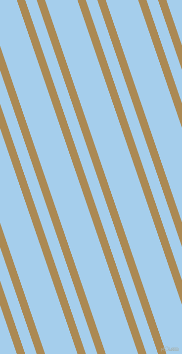 109 degree angles dual stripe line, 16 pixel line width, 22 and 62 pixels line spacing, Teak and Sail dual two line striped seamless tileable