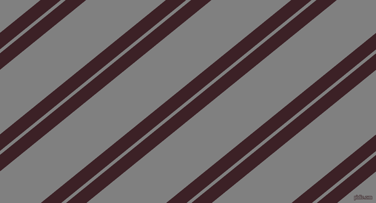 39 degree angles dual stripe line, 25 pixel line width, 6 and 98 pixels line spacing, Temptress and Grey dual two line striped seamless tileable