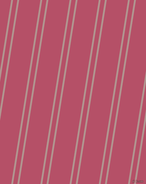 81 degree angles dual stripes lines, 6 pixel lines width, 14 and 69 pixels line spacing, Thatch and Blush dual two line striped seamless tileable
