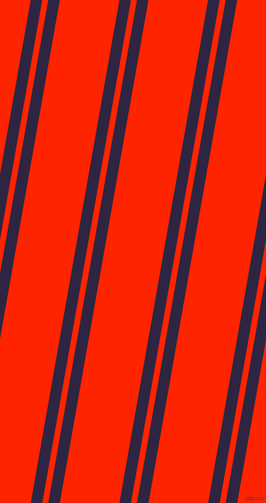 80 degree angles dual stripes lines, 23 pixel lines width, 12 and 119 pixels line spacing, Tolopea and Scarlet dual two line striped seamless tileable