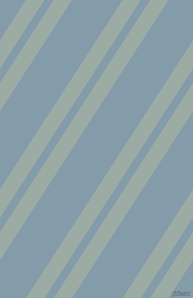 57 degree angles dual stripes line, 31 pixel line width, 16 and 86 pixels line spacing, Tower Grey and Bali Hai dual two line striped seamless tileable