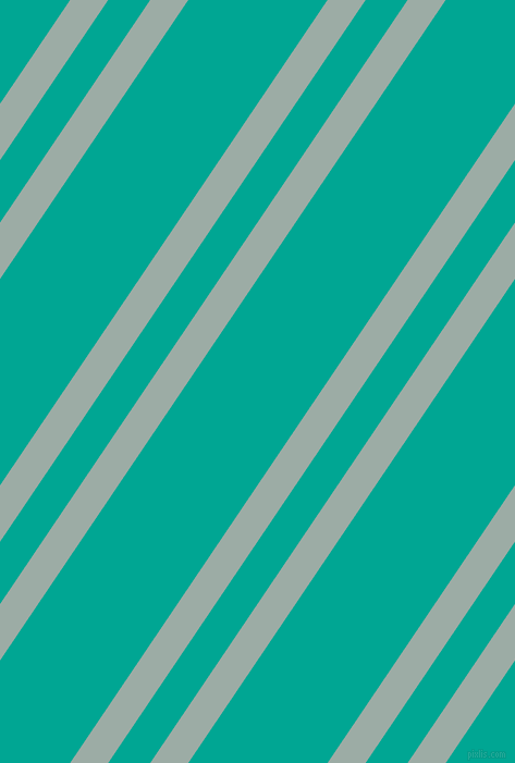 56 degree angle dual stripe lines, 29 pixel lines width, 32 and 106 pixel line spacing, Tower Grey and Persian Green dual two line striped seamless tileable