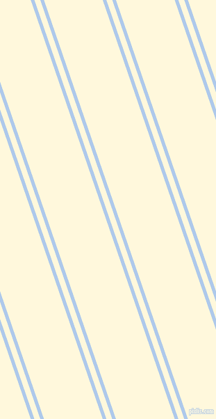 109 degree angles dual stripe line, 5 pixel line width, 8 and 80 pixels line spacing, Tropical Blue and Corn Silk dual two line striped seamless tileable