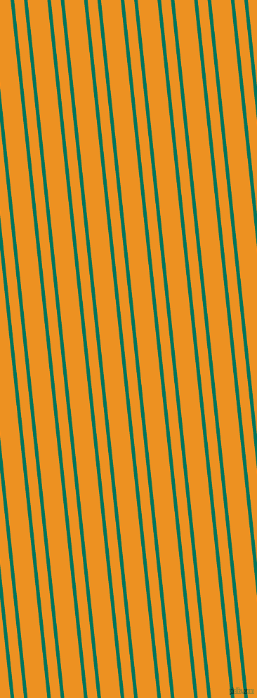96 degree angles dual stripe line, 5 pixel line width, 14 and 28 pixels line spacing, Tropical Rain Forest and Carrot Orange dual two line striped seamless tileable