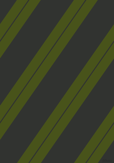 55 degree angle dual stripe line, 36 pixel line width, 4 and 105 pixel line spacing, Verdun Green and Oil dual two line striped seamless tileable