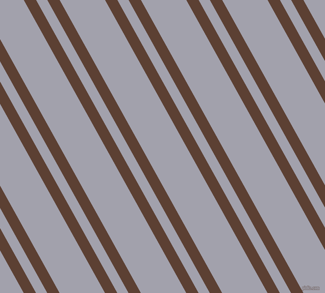 119 degree angles dual striped lines, 22 pixel lines width, 20 and 81 pixels line spacing, Very Dark Brown and Spun Pearl dual two line striped seamless tileable