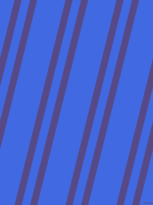 76 degree angle dual stripe line, 28 pixel line width, 34 and 113 pixel line spacing, Victoria and Royal Blue dual two line striped seamless tileable