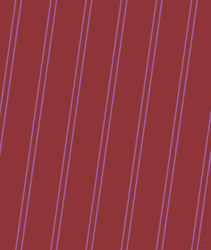 82 degree angles dual stripes lines, 3 pixel lines width, 8 and 55 pixels line spacingViolet Blue and Well Read dual two line striped seamless tileable