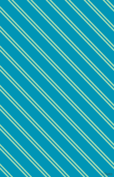134 degree angles dual striped line, 5 pixel line width, 4 and 32 pixels line spacing, Vista Blue and Bondi Blue dual two line striped seamless tileable