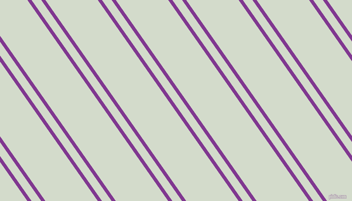 125 degree angle dual stripe line, 7 pixel line width, 16 and 87 pixel line spacing, Vivid Violet and Ottoman dual two line striped seamless tileable