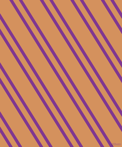 122 degree angles dual striped line, 12 pixel line width, 20 and 59 pixels line spacing, Vivid Violet and Whiskey Sour dual two line striped seamless tileable