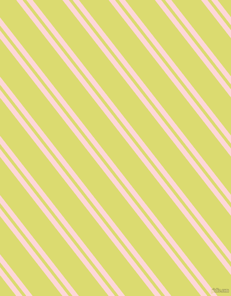 128 degree angles dual stripe lines, 10 pixel lines width, 6 and 47 pixels line spacing, We Peep and Goldenrod dual two line striped seamless tileable