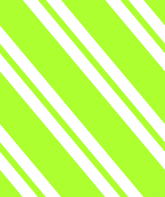 130 degree angles dual striped lines, 38 pixel lines width, 20 and 110 pixels line spacing, White and Green Yellow dual two line striped seamless tileable