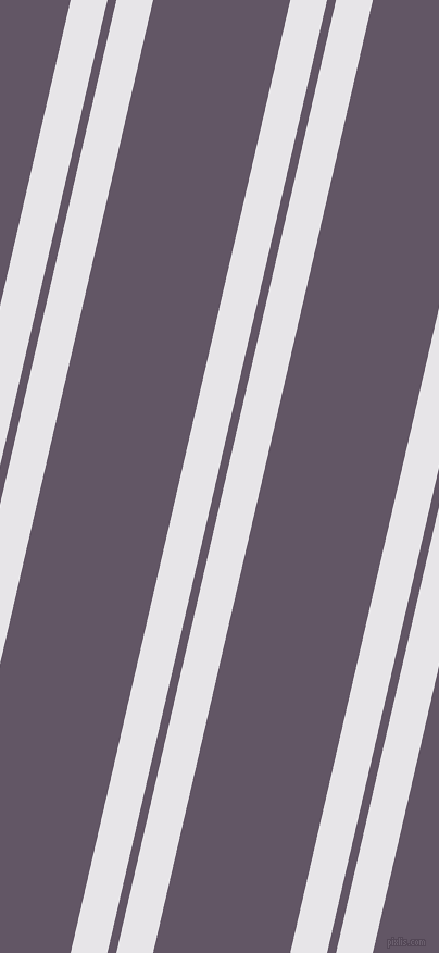 77 degree angle dual stripe line, 33 pixel line width, 8 and 123 pixel line spacing, White Lilac and Fedora dual two line striped seamless tileable