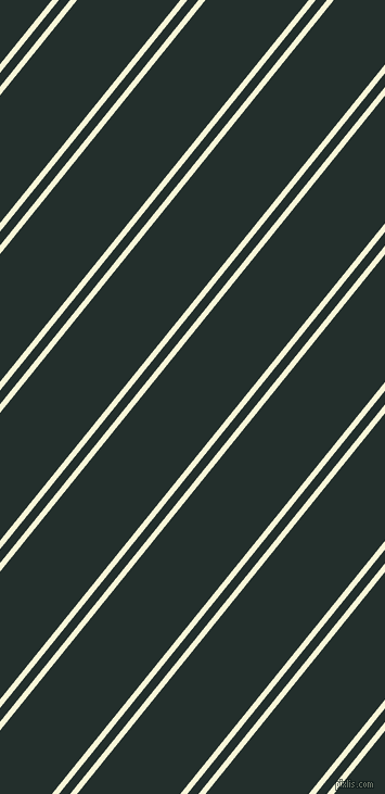 51 degree angles dual striped lines, 5 pixel lines width, 8 and 74 pixels line spacing, White Nectar and Racing Green dual two line striped seamless tileable