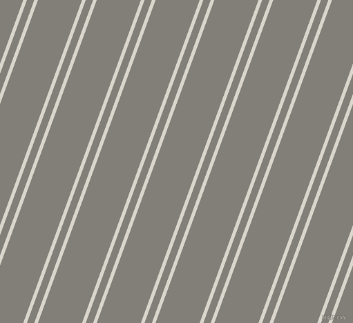 70 degree angles dual stripes lines, 5 pixel lines width, 10 and 60 pixels line spacing, White Pointer and Concord dual two line striped seamless tileable