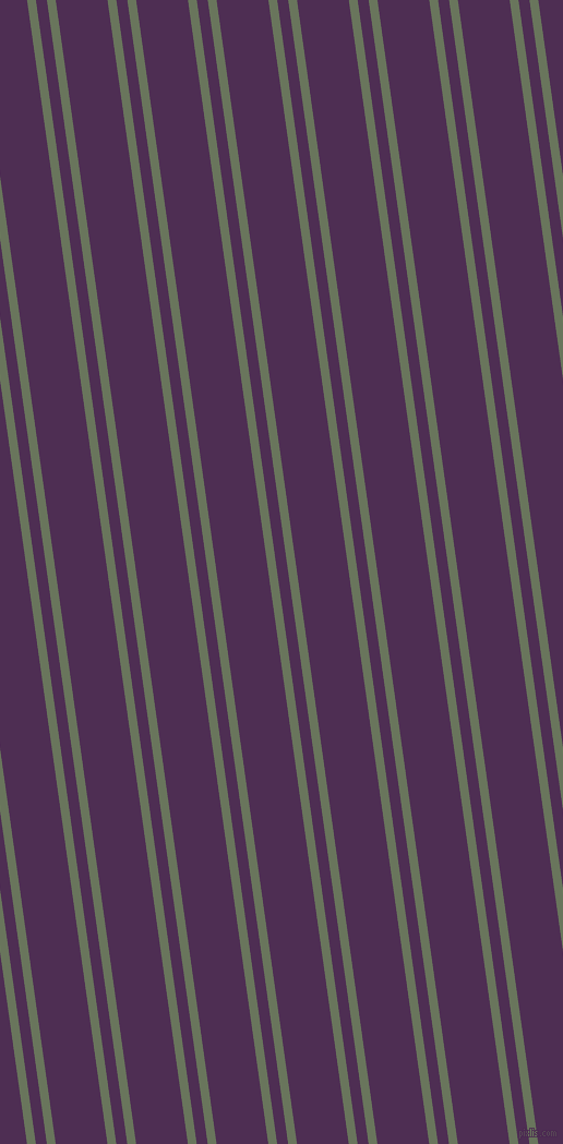98 degree angles dual stripe line, 8 pixel line width, 10 and 47 pixels line spacing, Willow Grove and Hot Purple dual two line striped seamless tileable