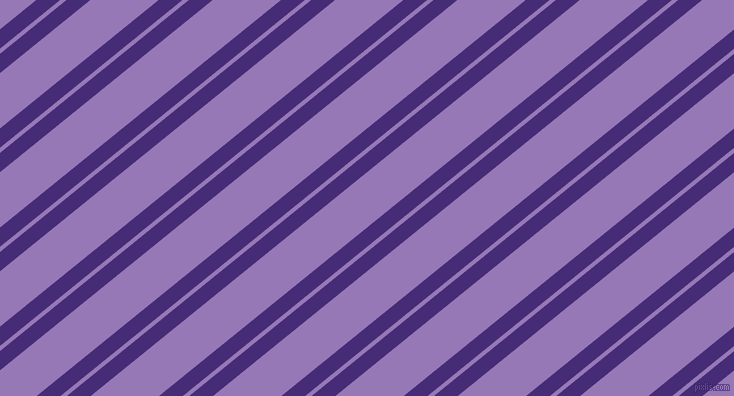 39 degree angle dual stripes lines, 15 pixel lines width, 4 and 43 pixel line spacing, Windsor and Purple Mountain